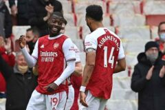 Match Report: Arsenal 2-0 Brighton and Hove Albion - Gunners miss out on Europe despite Pepe double