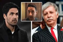 David Ornstein: 'Arsenal seem to think that Arteta is part of the solution not a key part of the problem'