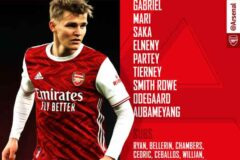 Chelsea v Arsenal: Confirmed Line-ups - Five changes from Sunday