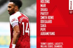 Arsenal v Villareal : Confirmed line-ups - Arsenal name an attacking side for the semi-final clash