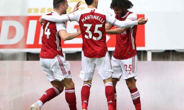 Player Ratings: Newcastle 0-2 Arsenal - Martinelli and Elneny impress in a good away win
