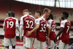 Players Rating: Arsenal 3-1 West Brom - Saka gets 8.6 after having a stormer as a 'Left back'