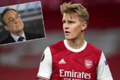 Real Madrid reportedly willing to sell Martin Odegaard for €60 million
