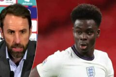 OFFICIAL: Saka included in England's 26-man squad for Euros