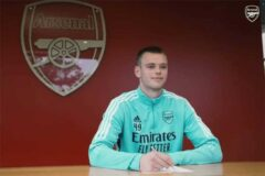 """""""A massive club"""": Karl Hein signs new Arsenal contract"""