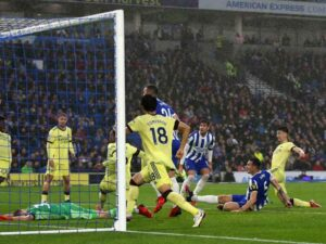 Brighton 0-0 Arsenal – Gunners hold on for tough draw